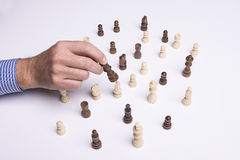 Play chess with no rules Royalty Free Stock Image