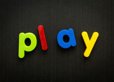 Play concept Stock Photo