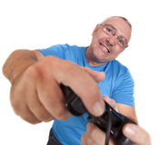 Play console man Stock Photography