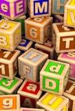 Play Cube. Play Blocks (computer generated image stock illustration