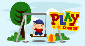Play Day Stock Image