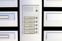 Play the doorbell Stock Image