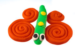 Play dough animal Royalty Free Stock Image