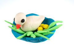 Play dough animal Stock Images