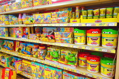Play Dough Toys Stock Images