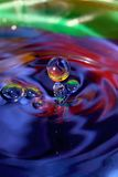 Play with drops Royalty Free Stock Photos