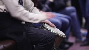 Play the drum Royalty Free Stock Images