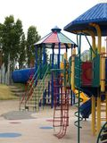 Play equipment in park Royalty Free Stock Photos