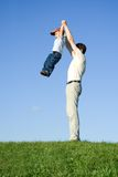 Play with father 10 Royalty Free Stock Photo