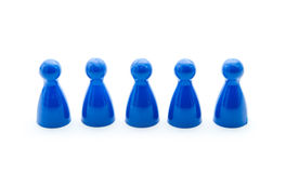 Play figures Royalty Free Stock Photography