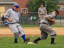 Play at first base Royalty Free Stock Photo