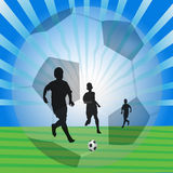 Play football Royalty Free Stock Photos