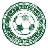 Play Football Stock Image