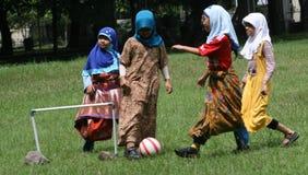 Play football Stock Photo