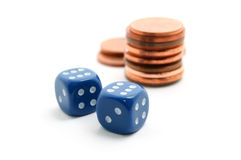 Play For Money Stock Photo