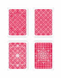Play gambling card pattern Stock Photos