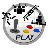 Play game icon Royalty Free Stock Photo