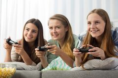 Play on game Stock Photos