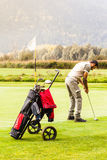 Play golf Stock Photo