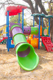 Play ground at the gardens area Royalty Free Stock Photography