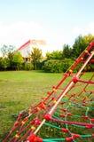 Play ground net Stock Photo