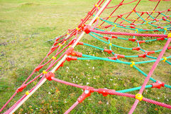 Play ground net Stock Image