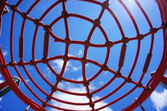 Play ground net Royalty Free Stock Photos