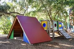 Play ground in the Ringling museum Royalty Free Stock Image