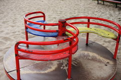 Play ground roundabout Stock Images