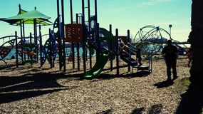Play ground sea wolf park Stock Images