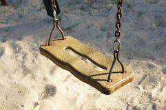 Play ground swing Stock Photo