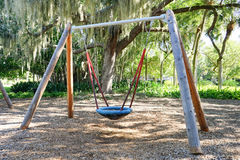 Play ground swing Stock Image