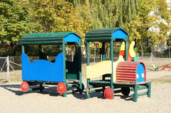Play ground train Royalty Free Stock Photography