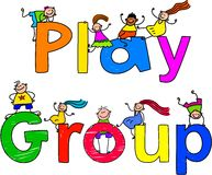 Play group Royalty Free Stock Image
