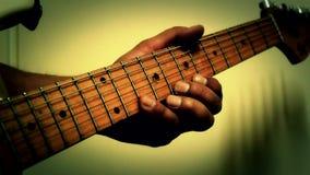 Play guitar  music Royalty Free Stock Image