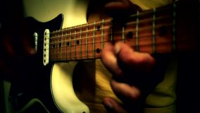 Play guitar  music Royalty Free Stock Photo