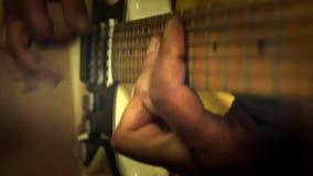 Play guitar  music Stock Photo