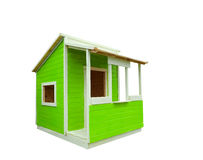 Play house. New Play house on white Royalty Free Stock Image