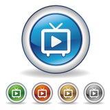 play icon Stock Photo