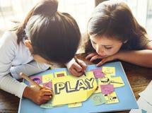 Play Joyful Enjoyment Playful Imagination Dreams Concept. Play Joyful Enjoyment Playful Imagination Dreams Royalty Free Stock Photo
