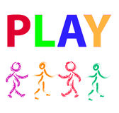 Play kids  Royalty Free Stock Photography