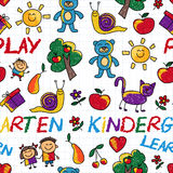 Play Learn and grow together Vector image Royalty Free Stock Photography