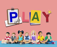 Play Leisure Activity Recreation Entertainment Playing Concept Royalty Free Stock Photo