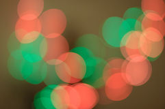 The play of light, bokeh. Bright background Royalty Free Stock Images