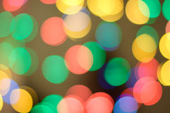 The play of light, bokeh. Bright background Stock Photo