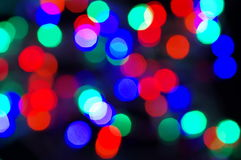 Play of lights. Colored abstract background Stock Images