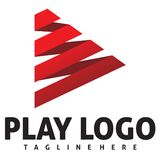 Play logo Royalty Free Stock Image