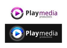 Play Media Logo Royalty Free Stock Photo