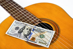 Play for Money. Royalty Free Stock Images