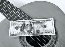 Play for Money. Royalty Free Stock Photos